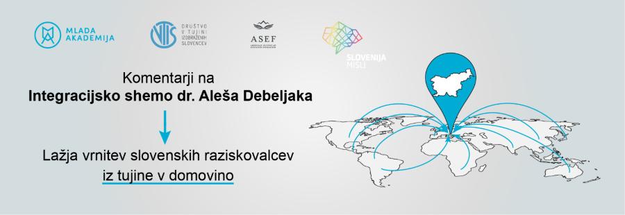 Komentarji Mlade akademije, Društva VTIS in Fundacije ASEF na Program Aleša Debeljaka za povezovanje slovenskega znanja in inovacij