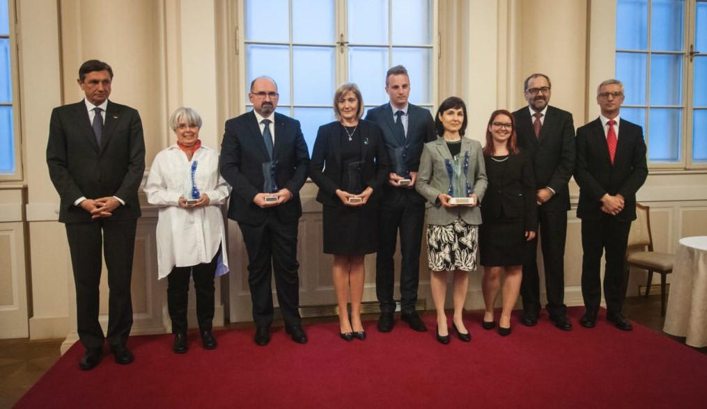 Prejemniki nagrade Mentor leta 2018