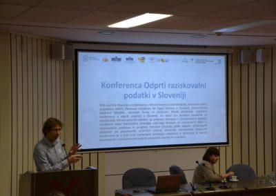 Odprta znanost: Konferenca Odprti raziskovalni podatki v Sloveniji in delavnica za raziskovalce – november 2019