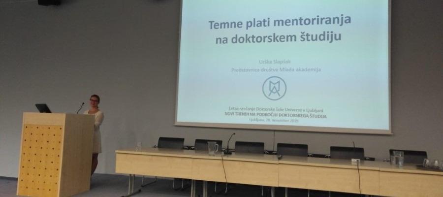 """Letni posvet Doktorske šole Univerze v Ljubljani: """"Novi trendi na področju doktorskega študija"""""""