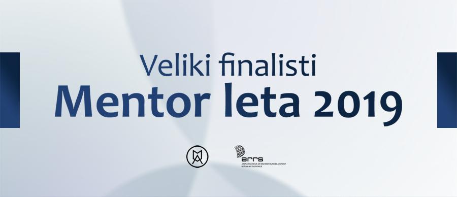Veliki finalisti – Mentor leta 2019
